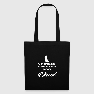 DAD FATHER PAPA DOG DOG CHINESE CRESTED DOG - Tote Bag