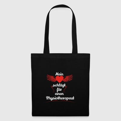 gift heart beats girlfriend Physiotherapist - Tote Bag