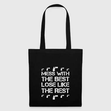 Mess with best loose king queen teacher hobby - Tote Bag