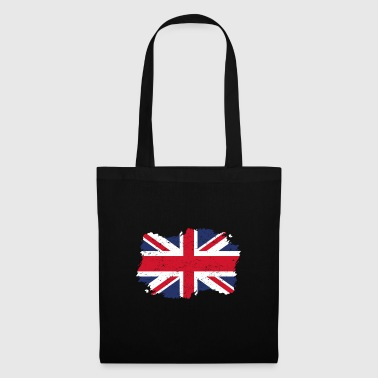 Drapeau Roots Roots pays natal Angleterre .png - Tote Bag