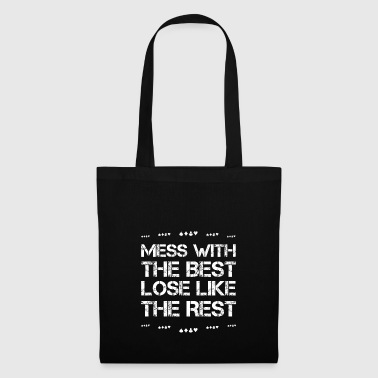 Mess with best loose king queen poker poker hobby - Tote Bag