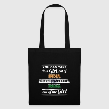 Gift take out queen origin girl INDIA - Tote Bag