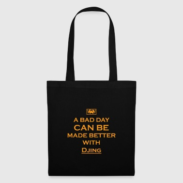geschenk bad day better TECHNO DJ ELECTRO - Stoffbeutel