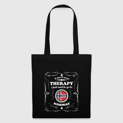 DON T NEED THERAPY WANT GO NORWAY - Tote Bag