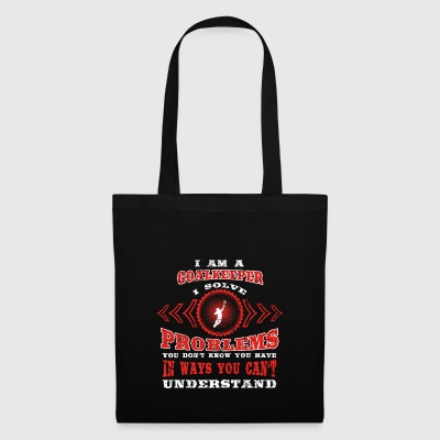 gift solve problems know GOALKEEPER - Tote Bag