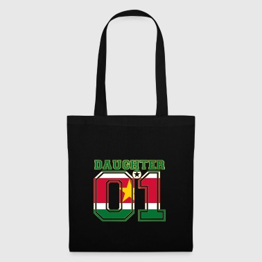 Daughter 01 daughter queen Suriname - Tote Bag