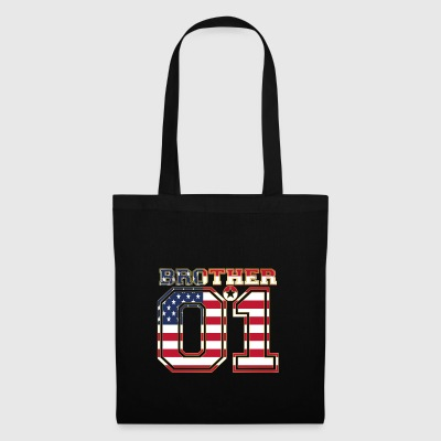 brother brother brother 01 partner USA America - Tote Bag