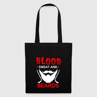 Blood Sweat Bart Hockey éliminatoire cadeau - Tote Bag