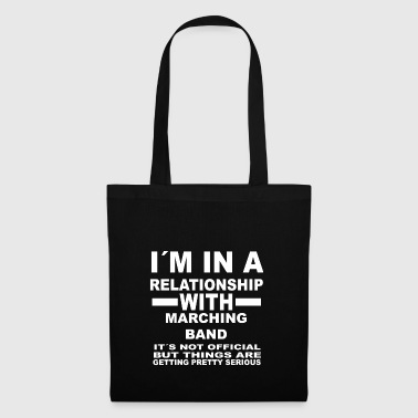relationship with MARCHING BAND - Tote Bag