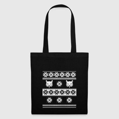 blanc hibou pull-over norwegian - Tote Bag