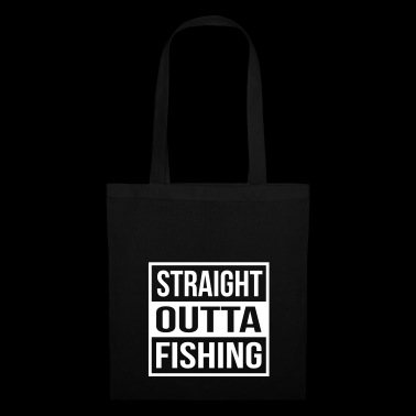 Straight Outta Fishing - Bolsa de tela