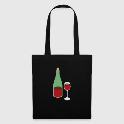 vin rouge - Tote Bag