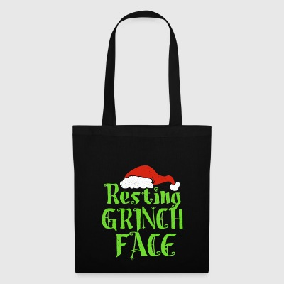 Resting Grinch Face - Stoffbeutel