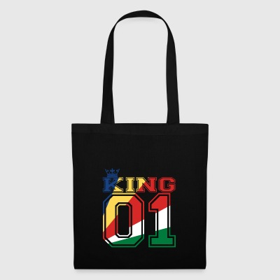 land partner king 01 prince Seychelles - Tote Bag