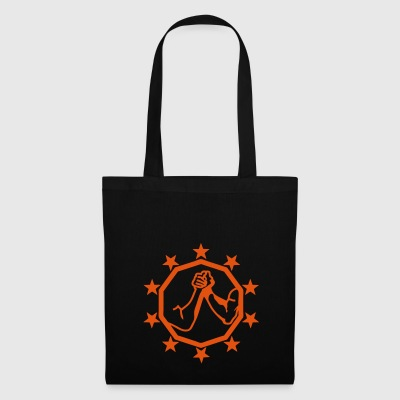 arm wrestling arm iron logo13 - Tote Bag