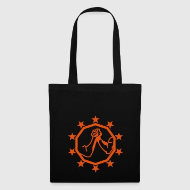arm wrestling bras fer logo13 - Tote Bag