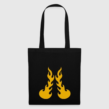 Flames Fire - Tote Bag