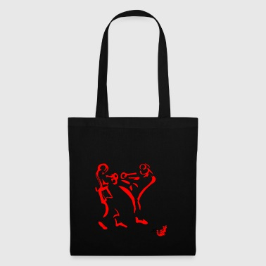 MUAY THAI, THAI BOXE, THAILAND LOTTA, FIGHT - Tote Bag