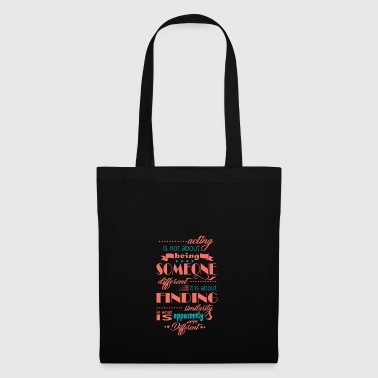 Audition performance casting actress - Tote Bag
