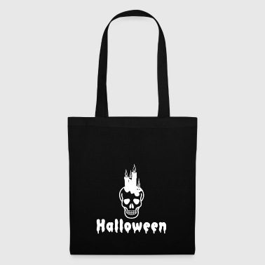 TOTENKOPF SKULL HALLOWEEN HORROR OCTOBER MONSTER - Tote Bag