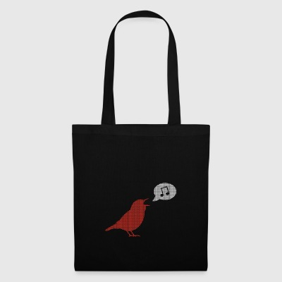 Xmas bird singing choir singer music hobby gift - Tote Bag