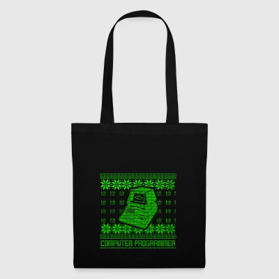 Program ugly sweater xmas gift code - Tote Bag