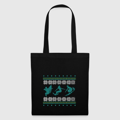 surfing ugly sweater christmas gift xmas - Tote Bag