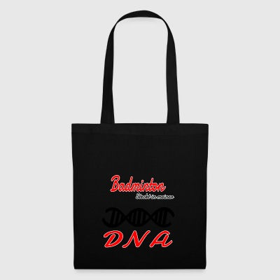 Is in mijn DNA Hobby Badminton - Tas van stof