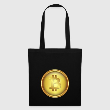 bitcoin coin gold - Tote Bag