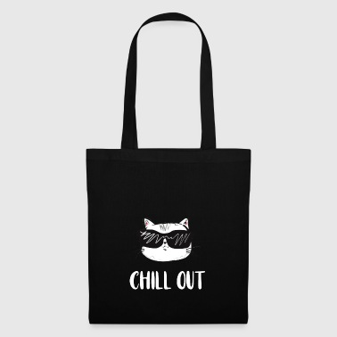 Chill out cat - Stoffbeutel