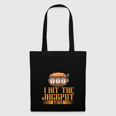 3x7 I hit the jackpot YOU - Tote Bag