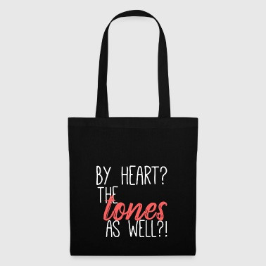 By Heart? The Tones As Well? - Tote Bag
