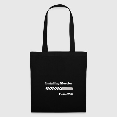 Installation muscles / Installer les muscles - cadeau - Tote Bag