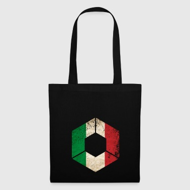 HEXAGON ITALY GRUNGE - Tote Bag