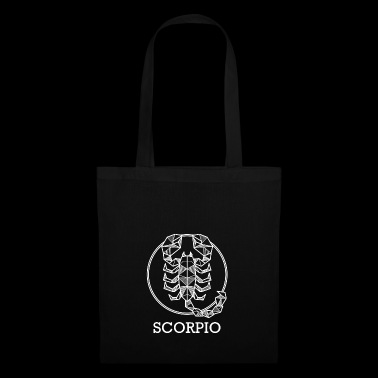 Zodiac Scorpio astro gift idea horoscope - Tote Bag