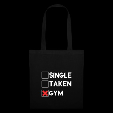 Single Taken Gym Tee Shirt - Tote Bag