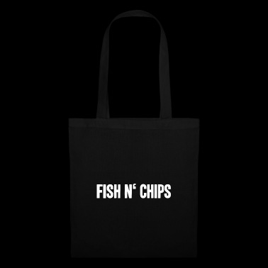 Fish and chips English food shirt - Tote Bag