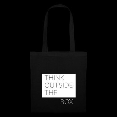 Think Outside the Box - Stoffbeutel