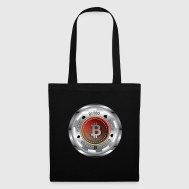 Poker SIlver bitcoin Chip - Mulepose
