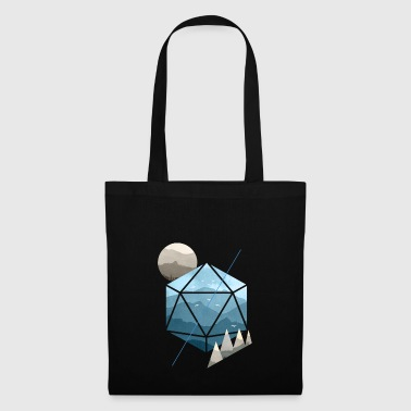 Dungeons & Dragons (Dnd) Watercolour D20 - Tote Bag