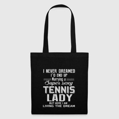 MARRYING A SUPER SEXY TENNIS LADY - Tote Bag