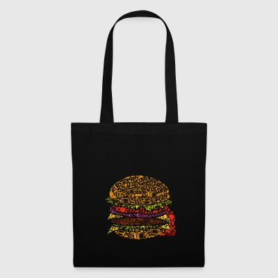 burger Art - Stoffveske