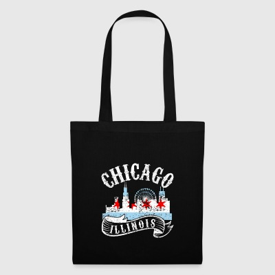 Chicago Illinois Ville vintage Distressed - Tote Bag