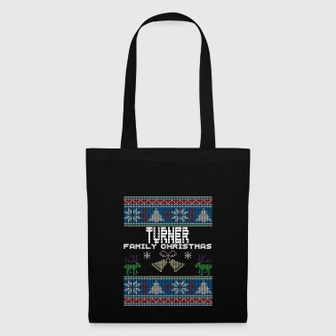 Ugly Turner Christmas Family Vacation T-shirt - Bolsa de tela