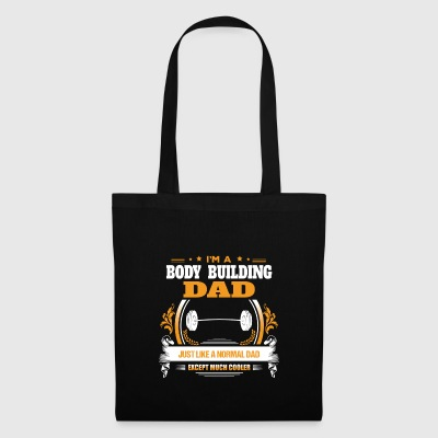 Body Building Dad Shirt Gift Idea - Tote Bag