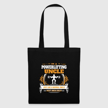 Powerlifting Uncle Shirt Gift Idea - Tote Bag