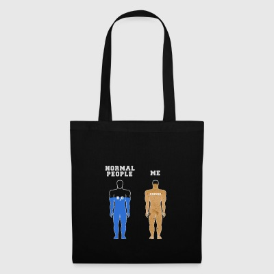 Normal People vs Me - Coffee - Tote Bag