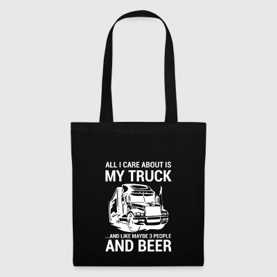 Truck - Truck - Truck Driver - Gift - Tote Bag