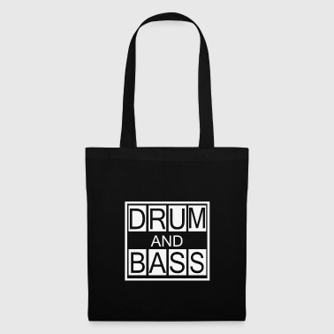 Drum and Bass T-Shirt, DnB Dubstep Shirt - Tote Bag