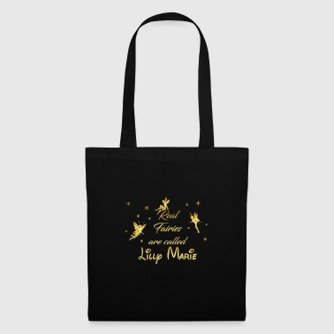Fairy Fairies First Name Lilly Marie - Tote Bag